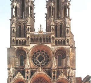 Laon Cathedral, France (begun 1160 AD)