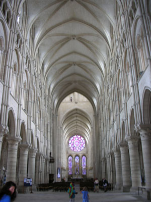 Nave of Laon Cathedral