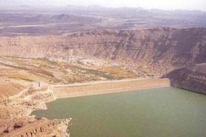 The Ma'rib Dam today (Yemenrebuilt the dam in 1986)