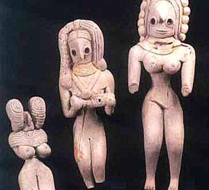 Clay figurines from Mehrgahr