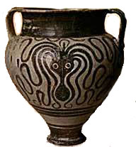 A later octopus vase