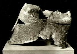 Miltiades' bronze helmet from the Battle of Marathon