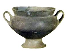 A depas cup in Minyan ware