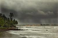 Monsoon rain (Goa)