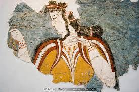 Mycenaean woman (from Mycenae, ca. 1400 BC)