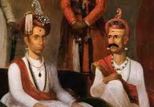 Nana Phadnavis and Madhav Rao