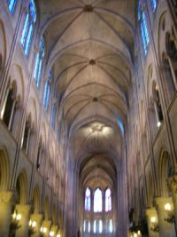 Notre Dame of Paris nave