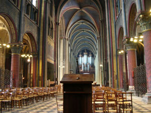 Nave of St. Germain (1100s AD)