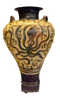 Mycenean octopus pot (Palace style)