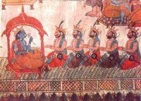 Pandava brothers from the Mahabharata