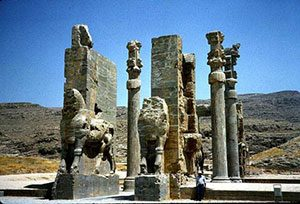 Darius' palace at Persepolis