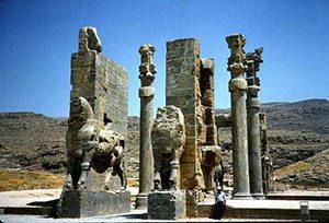 Darius' palace at Persepolis