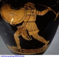 "A Greek image of a Persian ""barbarian"" (now in Berlin)"