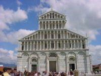 Façade of Pisa's Duomo