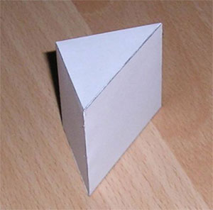 This is a triangular prism