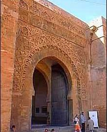 Rabat gate, Morocco, about 1200 AD
