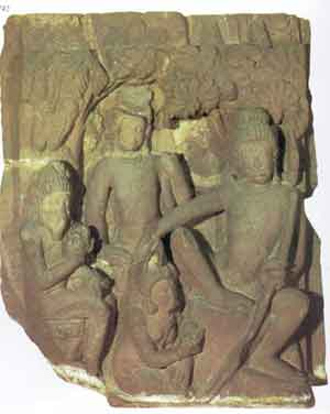 Rama (a Gupta carving of the 400s AD, now in New Delhi)