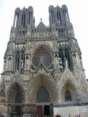 Reims cathedral (begun 1211 AD)