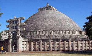 Sanchi stupa, 250 BC
