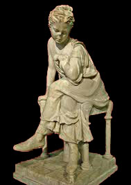 Seated girl (Capitoline Museum, Rome)