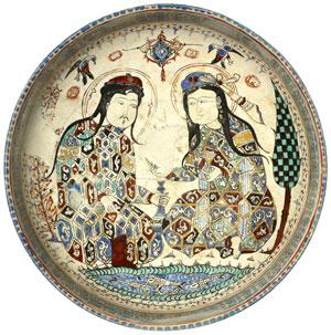 Seljuk bowl (ca.1200 AD)