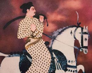Chattrapati Shahu, ca. 1725 AD