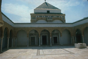 The mausoleum (tomb) of Sidi Qasim, in Tunis