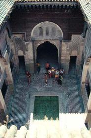 Shirij Madrasa, Fez, Morocco, about 1350 AD