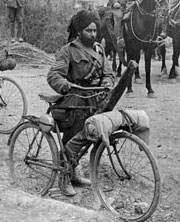 Sikh soldier in World War I