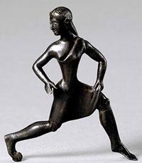 Spartan girl running (ca. 500 BC)
