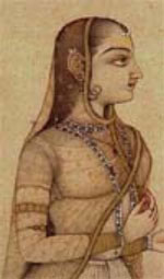 Maharani Tarabai, ca. 1700 AD