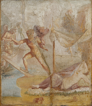 Theseus leaves Ariadne on Delos
