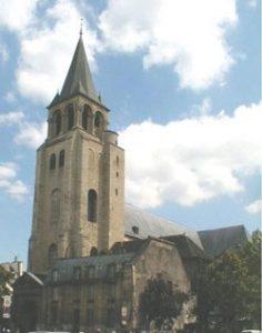 St. Germain des Pres (Paris, 1000 AD)