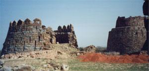 Tuglaqabad fort, 1300s AD