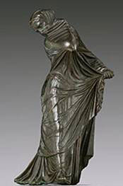 Veiled dancer (now in the Metropolitan Museum)
