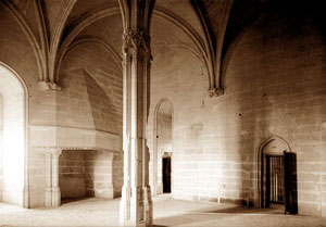 Inside the castle of Vincennes