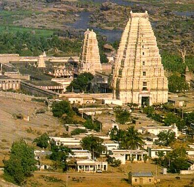 Vijayanagara temple