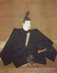 Minamoto Yoritomo (maybe), by Fujiwara Takanobu