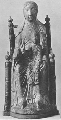 Empress Agnes holding Henry IV
