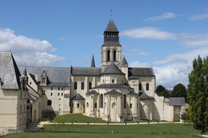 Fontevrault Abbey, where Eleanor lived the last years of her life
