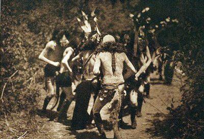 Navajo dancers