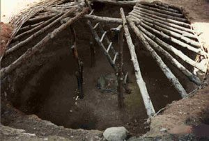 Anasazi (Pueblo) pit house