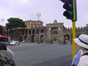 Aqueduct in the city of Rome - Roman aqueducts