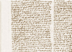 A book in Thomas Aquinas' handwriting