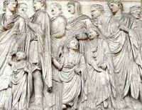 Ara Pacis Augustae - the Altar of Peace, in Rome
