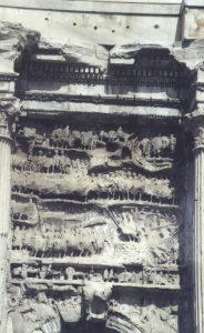 Victories over the Parthians on the Arch of Septimius Severus