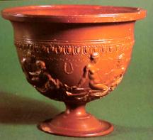 Arretine pottery from Arezzo