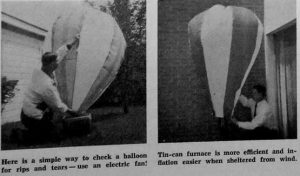 Making your own hot air balloon