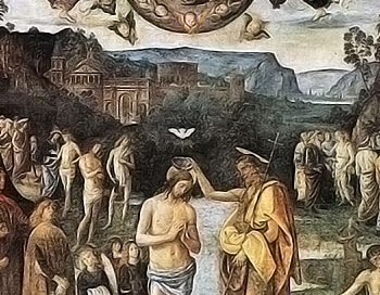 Father, Son, and Holy Ghost (Perugino, about 1482 in Rome)