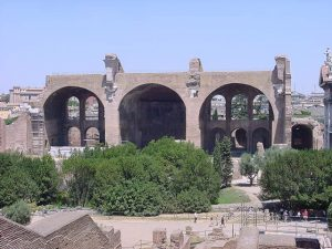 Basilica of Maxentius and Constantine - Roman forum